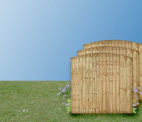 featheredge <br>fence <br> panels